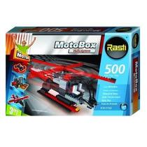 Rasti Motobox Helicoptero As350 500 Piezas 3 Modelos P/armar