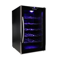 Cava De Vino Vondom 28 Botellas Digital Touch Espejado Acero
