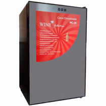 Cava Conservadora De Vinos 28 Botellas Wine Collection Envio