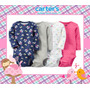 Carters - Bodys Manga Larga Pack X4 Originales!!0 A 24 Meses