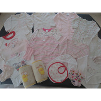Lote Invierno Beba Bodies Camisetas Gamise Beba 20 Prendas