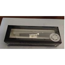 Montblac Boligrafo Platinum Line Mod. P164 + Voucher Grabado