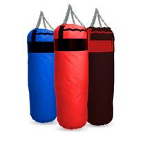 Bolsa De Boxeo Profesional Lona Pesada 0.90 Mts Con Relleno!
