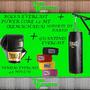 Promo Bolsa Everlast Powercore 1,2m+soporte+guantines+vendas