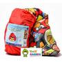 Bolsa De Dormir Camping De Chicos Princesas Cars Angry Birds