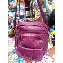Cartera Simil Cuero Mossimo Importada Original Color Fucsia
