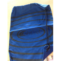 Bolsa Tela Tipo Lona Gabardina Azul