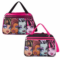 Bolso Monster High Grande Viaje Pileta Mmh107 Footy Original