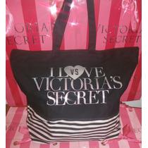 Bolso Negro Love Vs Plata Linea Signature Victoria