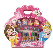 Princesas Set De Arte Con Sellos C/licencia Disney Original