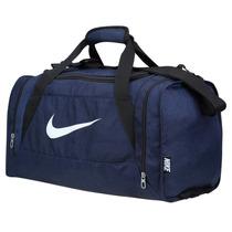 Bolso Deportivo Nike Modelo Brasilia 6 Color Azul Small
