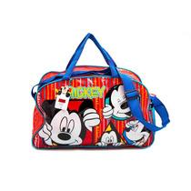 Bolso Mickey Grande Natacion Picnic Mama Bebe Disney Pvc