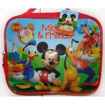 Lunchera Termica Mickey Mouse Disney Junior 24x20x10cm