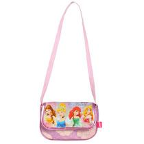 Cartera Infantil Con Solapa Princesas Disney