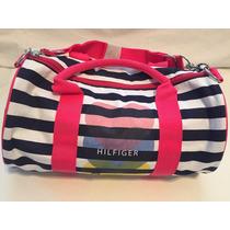 Divino Bolso Duffle Bag Tommy Hilfiger Heart Importado Usa