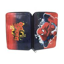 Cartuchera Spiderman 1 Piso C/cierre Licencia Original
