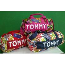 Bolsos Tommy Grande,con Piedras Brillosas!!