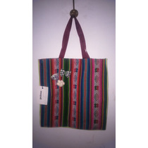 Bolso De Aguayo Ideal Super, Picnic, Playa, O Facu, Nuevo!!