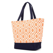 Bolso Playero Brandy Estampado Naranja