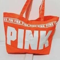 Bolso Pink De Victoria Secret Liquido!!! Rosa Y Naranja!