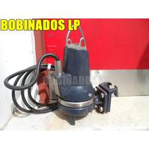 Bomba Sumergible Cloacal Trituradora Grundfos Mod Seg 40