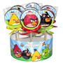10 Chupetines De Chocolate Angry Birds Personalizados Cumple