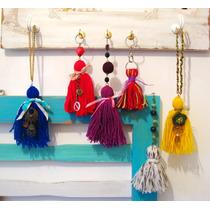 Borlas Decorativas Puerteros Llavero Cortina Cartera Bijoux