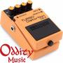 Boss Ds2 Pedal Para Guitarra-bajo Turbo Distorsión Garantía