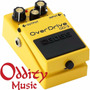 Boss Od3 Pedal Efecto Overdrive Guitarra Eléctrica - Oddity