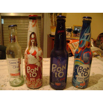 Botellas De Pronto Y Gancia Vacias
