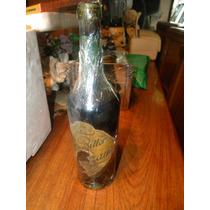 Vieja Botella Refresco Bitter Cinzano 950 Cont Neto $ 650