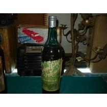 Antigua Botella Cerrada Grappa De Orujo Valleviejo