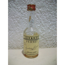 Botellita Miniatura De Fernet Luxardo Vacia
