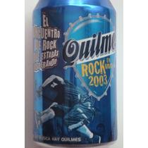 Cerveza Quilmes Antigua Lata Sin Abrir Rock En Vivo 2003