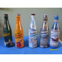 Lote De 5 Botellas De Cerveza Quilmes De Edicion Limitada