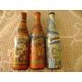 Lote 3 Botellas Quilmes Edición Historica 1890 Y Mom Sabor D