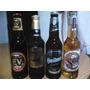 4 Botellas Cerveza 350 Cc Para Coleccion Distintas Marcas!!