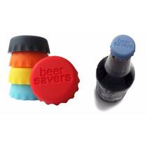 Tapa De Silicona Cerveza Pack Por 6 Unidades Ideal Regalos