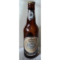 * Warsteiner Botella 355cm Etiquet Oval Alemania 2001 Vacia
