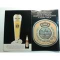 Tarjeta Invitación Cerveza Wacfteiner Año 1995