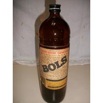 Botella Ginebra Bols Antigua