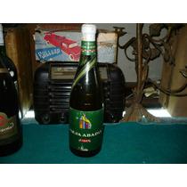 Antigua Botella Cerrada De Vino Vieja Abadia