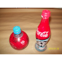 Lote De 2 Botellas Coca Cola