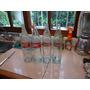 Antiguas 4 Botellas De Coca Cola De 1 Litro