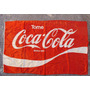 Retro Primera Bandera Tela Resistente Coca Cola