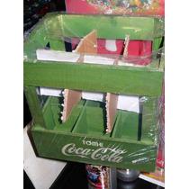 Botellas Coca Cola Cajon 3da. Ed.120 Años Vintage Unico !!!