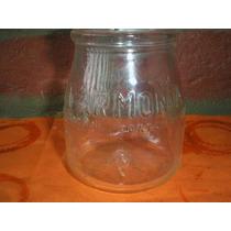 Antiguo Frasco Botella Leche Yoghurt La Armonia Labrada