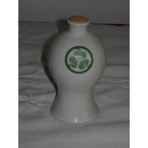 Antigua Botellita De Coleccion Porcelana Oriental 13 Cm