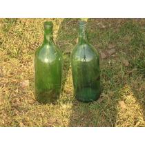 2 Botellas Antiguas De 2 Litros