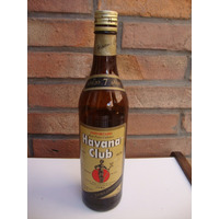 Vieja Botella De Ron Havana Club - Cubano